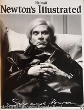 Rare Andy Warhol Photo Museum Book Sex Power Monte Carlo 1987