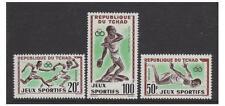 Chad - 1962 Sports set - MNH - SG 89/91