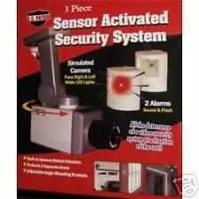 !Protection! Security System Sensor Activated 3 Piece