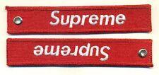 SUPREME - BRAND RED KEYCHAIN - KEY051