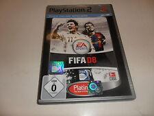 PlayStation 2  PS 2  FIFA 08 (Platinum)