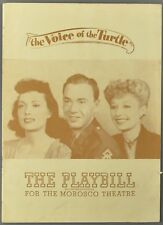 1946 THE VOICE OF THE TURTLE Martha Scott John Beal MOROSCO THEATRE NY Playbill