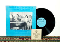 Harlem Blues & Jazz Band, More Blues & Jazz From Harlem, LP 1970s - NM Vinyl
