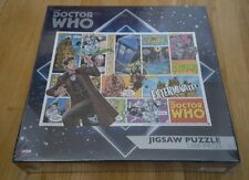 Doctor Who Comic Collage (1000-Piece Jigsaw Puzzle) Dalek Cybermen OOP RARE NEW