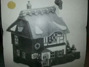 DEPARTMENT 56 HERITAGE VILLAGE DAVID COPPERFIELD BETSY TROTWOOD'S COTTAGE
