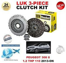 POUR PEUGEOT 407 6D 6E 1.6 HDI 110 109BHP 2006-ON Clutch Kit Original LUK 3 PIECE