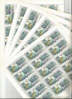 URSS 1976... 5 Feuilles n° 4241 ★★...Satelites Météor et Molnyia...Coté 22,50€