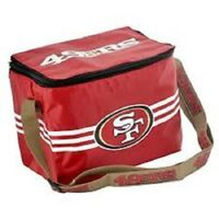 San Francisco 49ers Forever Collectibles NFL Lunch Box Cooler Bag