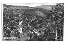 AK, Wölfelsgrund, Międzygórze, ev. Kirche u. Scheerberg, um 1940
