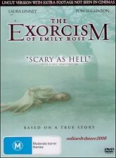 The EXORCISM of EMILY ROSE (Laura LINNEY) UNCUT True Story Horror Film DVD Reg 4