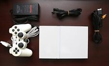 Playstation 2 Slim white Console SCPH-75000 Japan Import PS2 System US Seller