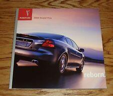 Original 2004 Pontiac Grand Prix Deluxe Sales Brochure 04