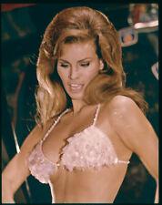 Raquel Welch Stunning Sexy Bikini Photo Original 5x4 Color Transparency 1960's