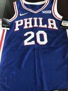 Philadelphia 76ers Markelle Fultz Mens Med (44) Nike Dri-Fit Swingman jersey