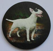 Bull Terrier -  Dog - Coaster - Welsh Slate