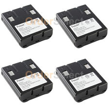 4x NEW Rechargeable Home Phone Battery for Sony BPT23 BP-T23 Uniden BT-999 BT999
