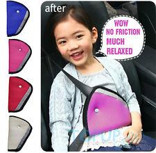 Child Safety Kids Car Harness Seat Belt Adjuster Positioner Strap Clip Cover Pad