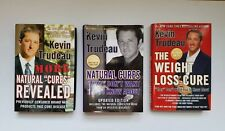 K Trudeau Lot of 3 Bks Natural Cures Revealed, Natural Cures, Weight Loss Cure