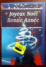 """H10) Carte """"Joyeux Noël - Bonne année"""" + enveloppe - Neuf"""