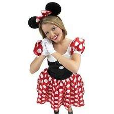 Polyester Complete Outfit Minnie Mouse Costumes for Girls