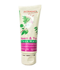 5 X 60 gm Herbal Neem & Tulsi With Aloe Vera Face Wash From Patanjali