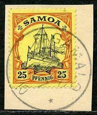 Samoa Mi 11  Kab.-Briefstück  Fagamalo   40,-