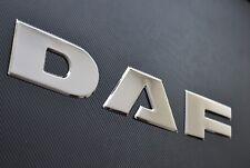 DAF XF 106 3D Bordado Espejo Acero Inoxidable Rejilla Delantera Placa Prensado