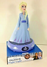 NEW Disney FROZEN 2 II ELSA Figure NIGHT LIGHT Auto Shut-Off Child-Safe LED Lite