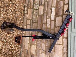 bike rack raxxmaxx 4 bike towbar mounted c/W witting towbar