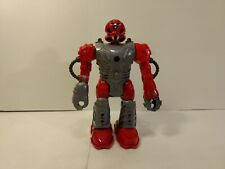 Hap-P-Kid Red Electronic & Light Up Robot Action Figure  t3862