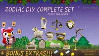 COMPLETE Celeste Zodiac DIY Set: Animal Crossings New Horizons