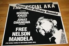 The Special AKA ‎Free Nelson Mandela (The Whole World Is Watching Dance Mix) 12""