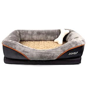 JOYELF Large Memory Foam Dog Bed, Orthopedic Dog Bed & Sofa with Removable Wash