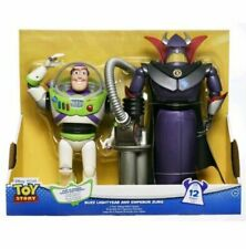 "Toy Story 12.5"" Buzz Lightyear & 14"" Emperor Zurg Talking Action Figures New"