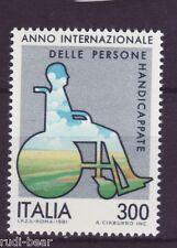 Italia N. 1744 ** anno dei minorati