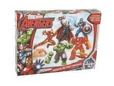 Marvel Avengers Hulk Thor Iron Man Capitán América Modelos Figuras Haz & Color