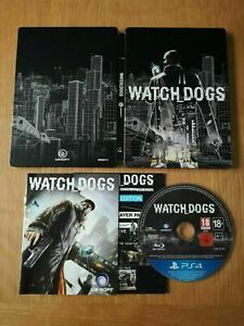 Watch Dogs Collector's Edition Steelbook (Playstation 4 PS4) Great Condition