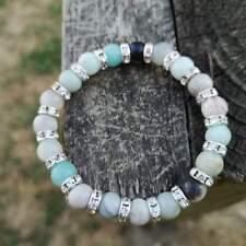 Courage And Truth Amazonite Bracelet Natural Stone Healing Chakra
