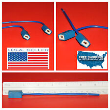2X H1 connector Fog light Ceramic wire harness pigtail WIRES BULB plugs plug HID