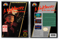 Nightmare on Elm Street, A - Nintendo NES Custom Case *NO GAME*