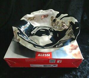 Alessi Sarria Round Basket / Fruit Bowl in Stainless Steel - 27.5cm Diameter
