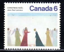 1974 Canada SC# 650 - Christmas - red ring on blue skirt Lot# 739a - M-NH