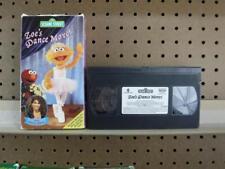 VHS Tape Rare Sesame Street Zoe's Dance Moves Paula Abdul
