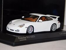 PORSCHE 911 GT3 WHITE 2003 MINICHAMPS 400062022 1/43