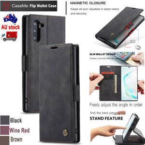 Case ME Flip Wallet Card Stand Holder Case Cover For SamSung Galaxy Note10 +5G