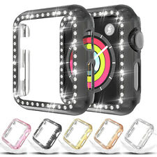 For Apple iWatch Series 5 4 3 2 1 Protector Diamond Watch Case 38 40 42 44mm