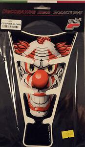 Motorrad Tankpad / Aufkleber / Tank / Tankaufkleber Horror Clown Spirit EB2D