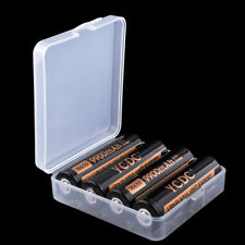 White Battery Case For 4x18650/8x16340 Battery Holder Protective Box 1Pc 3276