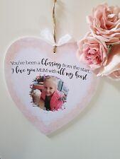 Personalised photo quote heart mum grandma mothersday gift grandchildren present