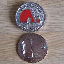 Nordiques Quebec hockey belt buckle (Choice colors)
